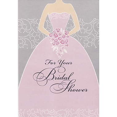 Greeting Cards, For Your Bridal Shower, 18/Pack
