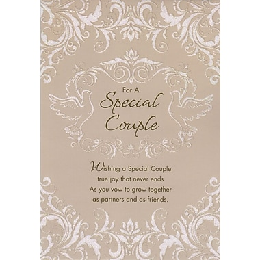 Greeting Cards, For A Special Couple Wedding Day, 18/Pack