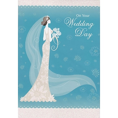 Cartes de souhaits, « For Your Wedding Day », 18/paquet