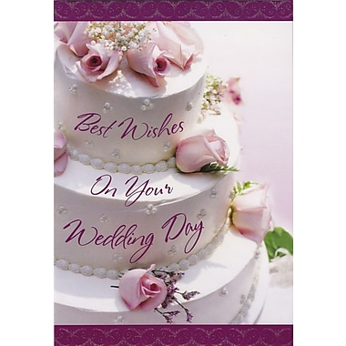 Greeting Cards, Best Wishes On Your Wedding Day, Promises, 18/Pack