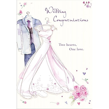 Greeting Cards, Wedding Congratulations, 18/Pack