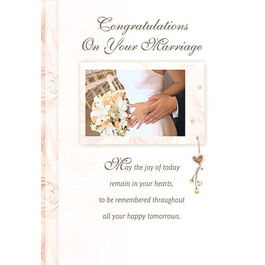 Greeting Cards, Congratulations On Your Marriage, 18/Pack