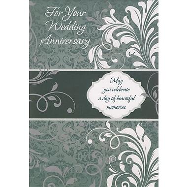 Cartes de souhaits, « on Your Wedding Anniversary », 18/paquet