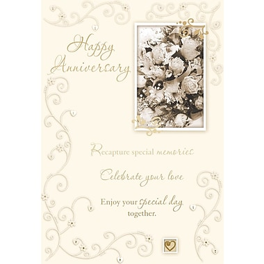 Greeting Cards, Happy Anniversary, 18/Pack