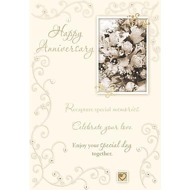 Cartes de souhaits, « Happy Anniversary », 18/paquet