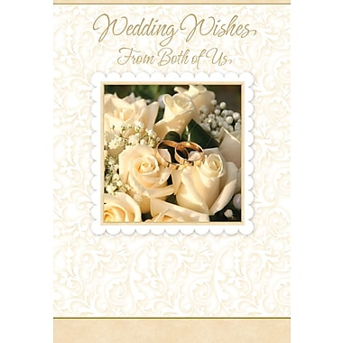 Greeting Cards, Wedding Wishes From Both of Us, 18/Pack