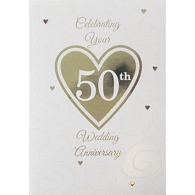 Cartes de souhait, Célébrer votre 50e anniversaire de mariage, 18/paquet