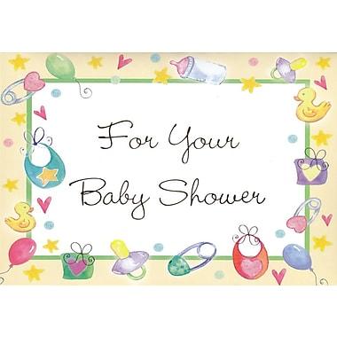 Cartes de souhaits, Pour votre fête prénatale, 18/paquet