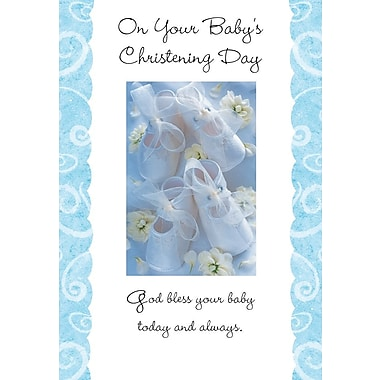 Greeting Cards, On Your Baby's Christening Day, 18/Pack