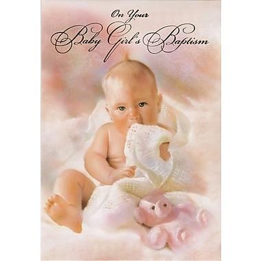 Cartes de souhaits, Célébrer le baptême de votre petite fille, 18/paquet