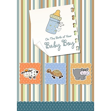 Greeting Cards, On the Birth of Your Baby Boy, 18/Pack