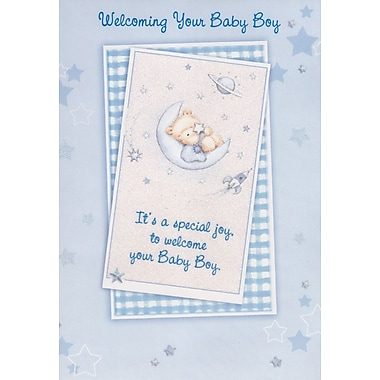 Greeting Cards, Welcoming Your Baby Boy, 18/Pack