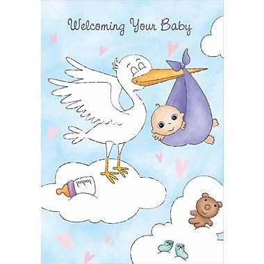 Cartes de souhaits, Célébrer l'arrivée de votre bébé, 18/paquet