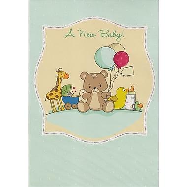 Cartes de souhaits, « A New Baby », 18/pqt