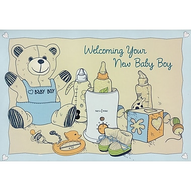 Greeting Cards, Welcoming Your New Baby Boy, 18/Pack