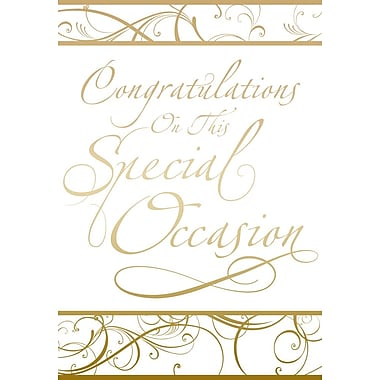 Greeting Cards, Congratulations on This Special Occasion, 18/Pack