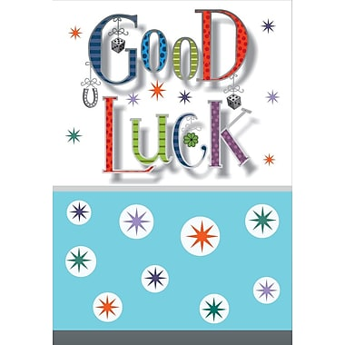 Greeting Cards, Good Luck, 18/Pack