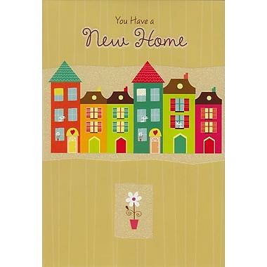 Cartes de souhaits, Vous avez une nouvelle demeure, 18/paquet
