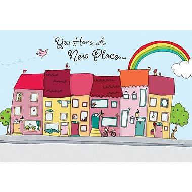 Greeting Cards, You Have A New Place, 18/Pack