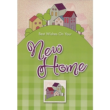 Greeting Cards, Best Wishes On Your New Home, Wishing you happiness, 18/Pack