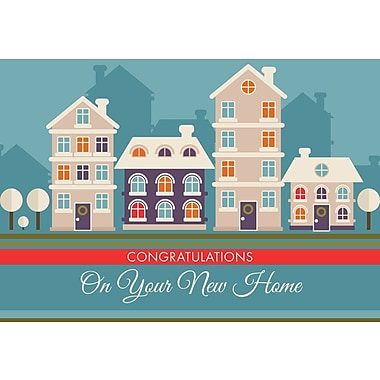 Greeting cards best wishes on your new home 18pack staplesreg greeting cards best wishes on your new home 18pack m4hsunfo