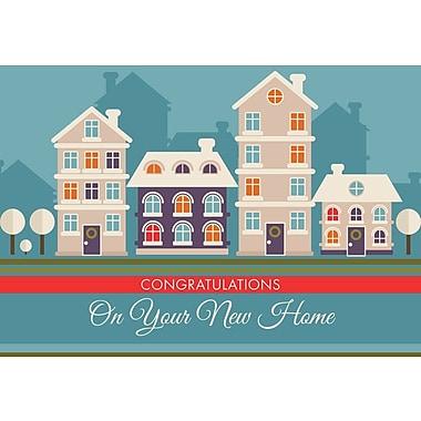 Cartes de souhaits, Félicitations pour votre nouvelle maison, 18/paq.
