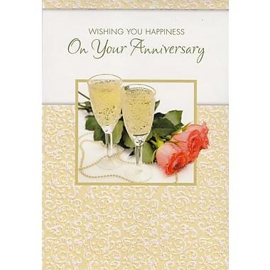 Cartes de souhaits, Meilleurs vœux de bonheur pour votre anniversaire, 18/paquet