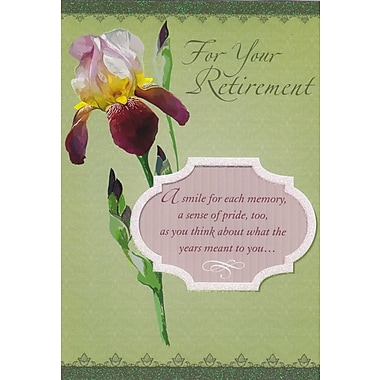 Greeting Cards, For Your Retirement, 18/Pack