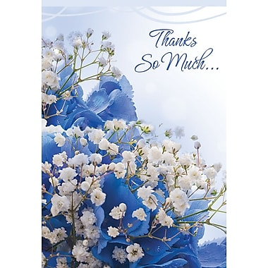Greeting Cards, Thanks So Much, 18/Pack