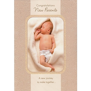 Greeting Cards, Congratulations New Parents, 18/Pack