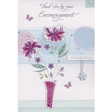 Greeting Cards, Thank You for your Encouragement, 18/Pack