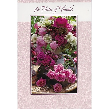 Greeting Cards, A Note of Thanks, 18/Pack
