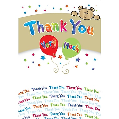 Greeting Cards, Thank You Very Much, 18/Pack