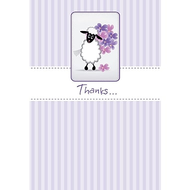 Cartes de souhaits, « Merci », 18/paquet