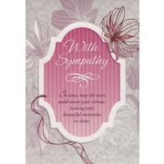 Greeting Cards, With Sympathy, 18/Pack