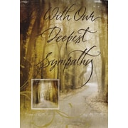 Greeting Cards, With Our Deepest Sympathy, 18/Pack