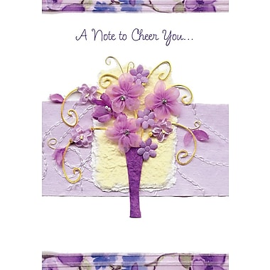 Greeting Cards, A Note To Cheer You..., 18/Pack
