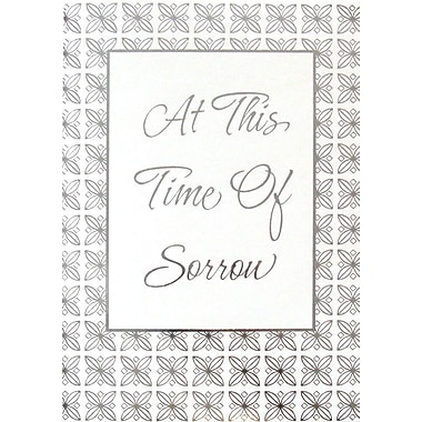 Greeting Cards, At This Time of Sorrow, 18/Pack