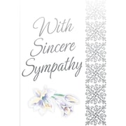 Greeting Cards, With Sincere Sympathy, 18/Pack
