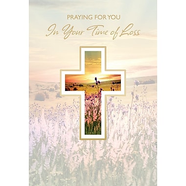 Greeting Cards, Praying For You In Your Time of Loss, Religious, 18/Pack