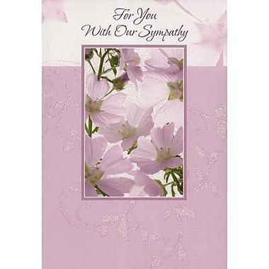 Cartes de souhaits, Pour vous, avec toutes nos condoléances, 18/paquet