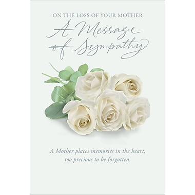 Greeting cards on the loss of your mother a message of sympathy greeting cards on the loss of your mother a message of sympathy 18 m4hsunfo