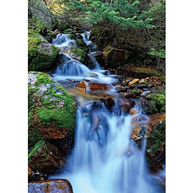 Greeting Cards, Blank Inside, Nature/Waterfall, 18/Pack