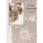 Cartes de souhaits, « Sincères condoléances », paquet de 18