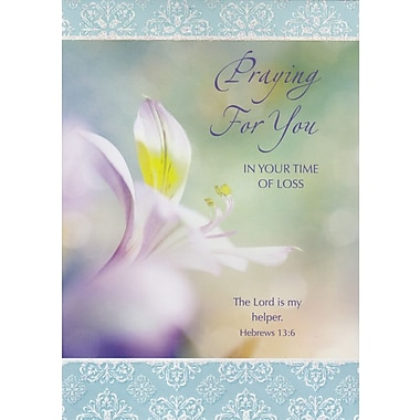 Greeting Cards, Praying for You In Your Time of Loss, 18/Pack