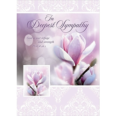 Greeting Cards, In Deepest Sympathy, 18/Pack