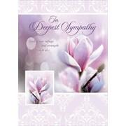 Cartes de souhaits, « En gage de notre authentique compassion », paquet de 18