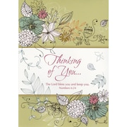 Greeting Cards, Thinking of You, 18/Pack