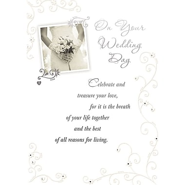 A-Line – Cartes de souhaits, « On Your Wedding Day », 18/paquet