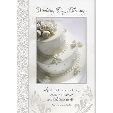 A-Line – Cartes de souhaits, « Wedding Day Blessing », 18/paq.